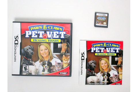 Paws and Claws Pet Vet 2 game for Nintendo DS | The Game Guy