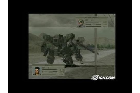 Front Mission 4 PlayStation 2 Gameplay - YouTube
