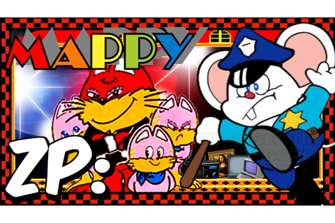 Zonic Plays: Mappy! - Namco Museum Remix - YouTube