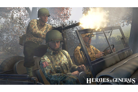 Play the game - Heroes & Generals