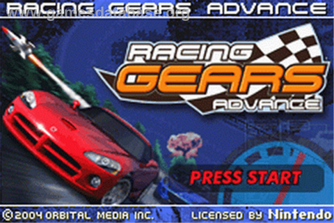 Racing Gears Advance - Nintendo Game Boy Advance - Games ...
