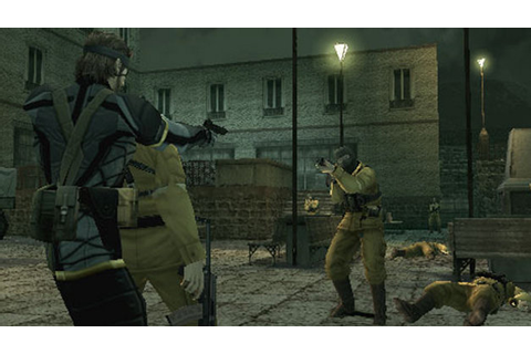 Metal Gear Solid - Portable Ops (Europe) ISO
