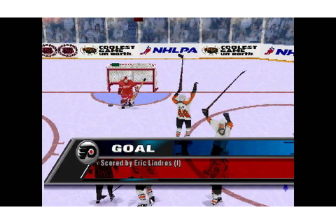 NHL FaceOff 98 ... (PS1) - YouTube