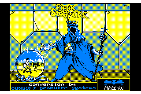 Dark Sceptre (1988) by Consult Software Amstrad CPC game
