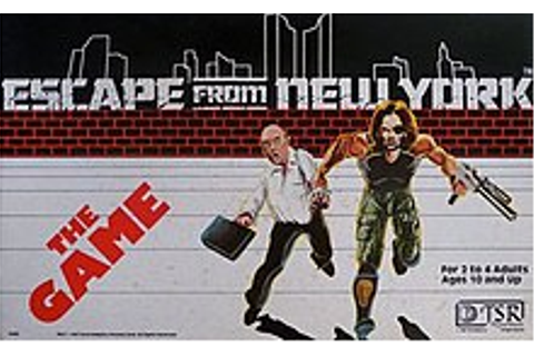 Escape from New York (game) - Wikipedia