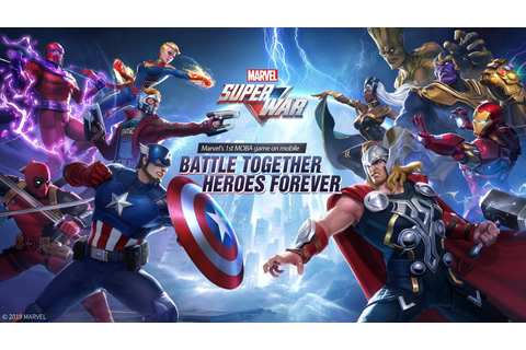 Marvel gets its first mobile MOBA game with MARVEL Super ...
