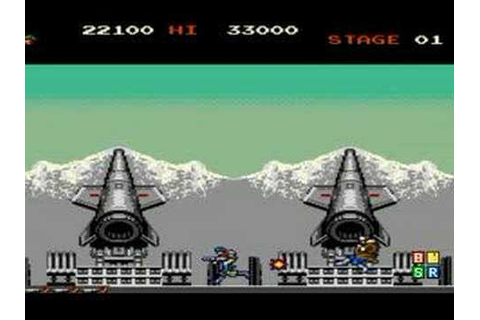 GREEN BERET old arcade game by Konami 1985 retro oldskool ...