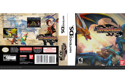 Dragon Tamer Sound Spirit Nintendo DS Box Art Cover by ...