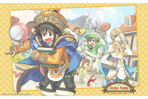 Atelier Annie Alchemists of Sera Island Wallpaper 001 ...
