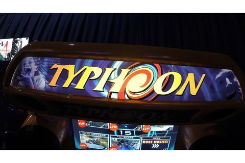 Typhoon Arcade Game At Dave & Buster's - Rollercoaster 3D ...