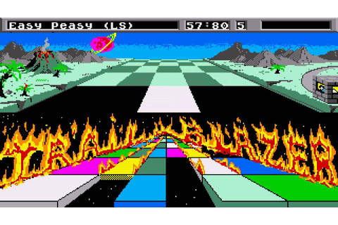 ATARI ST Trailblazer 1 By Gremlin & Hacked By 007 M.S.H ...