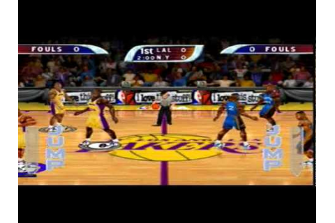 NBA Hoopz Sega Dreamcast Gameplay - YouTube