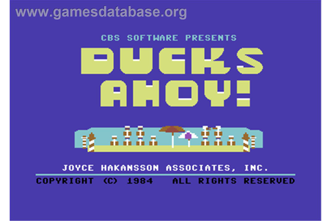 Ducks Ahoy! - Commodore 64 - Games Database