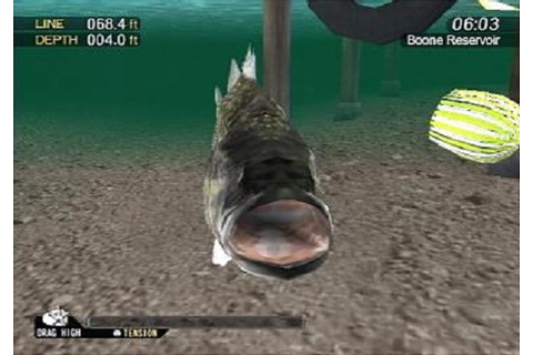 Bass Strike Sony Playstation 2 Game