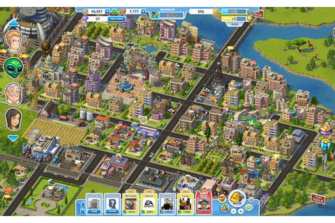 SimCity Social disponible sur Facebook ! | 16 Couleurs
