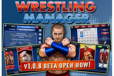 'Wrestling Manager' 1.0.8 Beta game announced - OWW