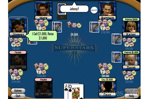 Poker Superstars II Download