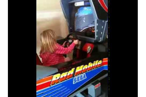 Rad Mobile Motion Simulator and X-Men Four Player Arcade ...