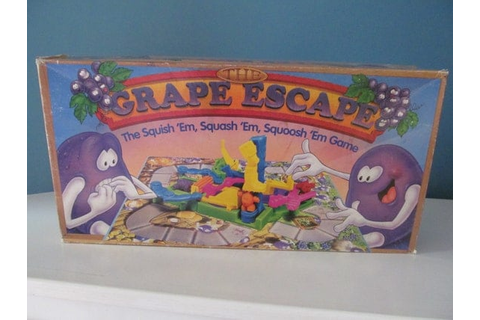 Vintage / Retro 1992 The Grape Escape The by PatsVintageShops
