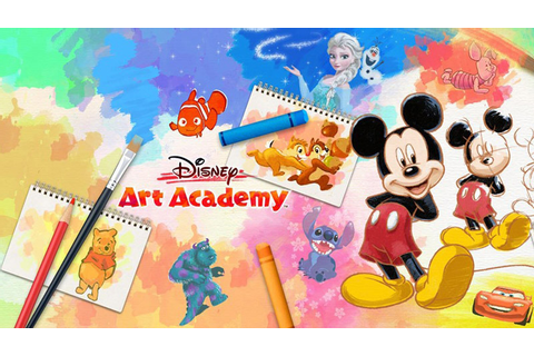 Review of Disney Art Academy Drawing Game for Nintendo 3DS