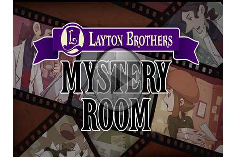 Layton Brothers Mystery Room iPhone game - free. Download ...