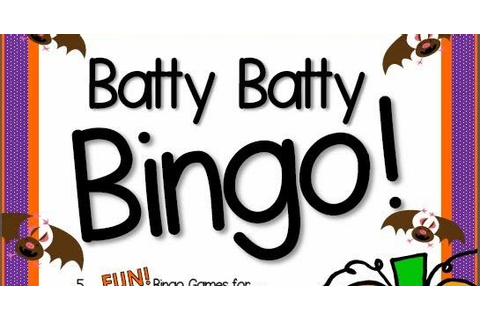 Primary Inspiration: Batty Batty Bingo! A Free Game for You!
