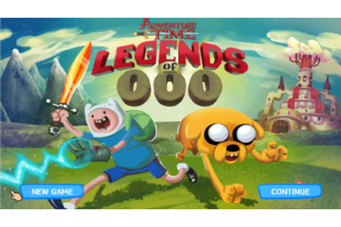 Cartoon Network Games: Adventure Time - Legends of OOO ...