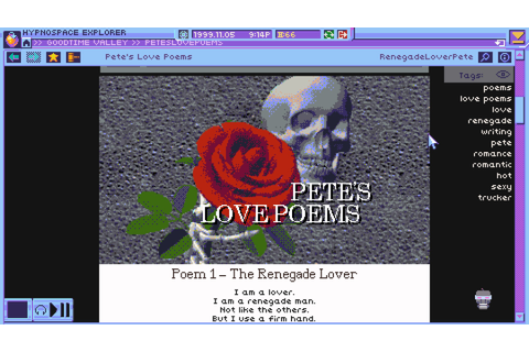 'Hypnospace Outlaw' is GeoCities moderator, the game
