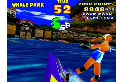 Model 2 Emulator SEGA Water Ski Gameplay (Expert) - YouTube