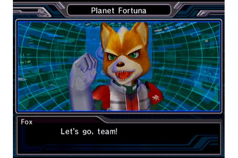 Star Fox: Assault - Mission 1 - A New Enemy - Fortuna ...