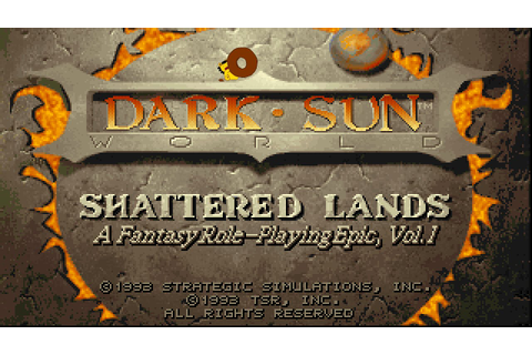 [Dark Sun #4] Crimson Sands - YouTube