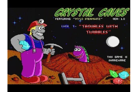 Crystal Caves [1/2] [DOS, 1991, Apogee Software ...