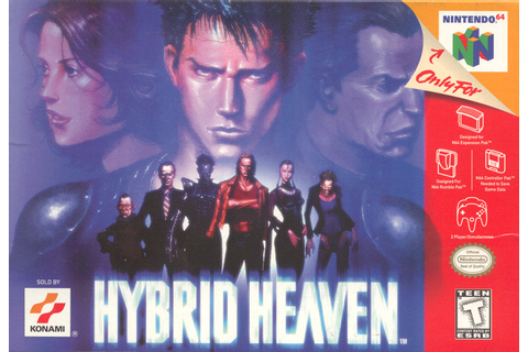 Hybrid Heaven (Video Game) - TV Tropes