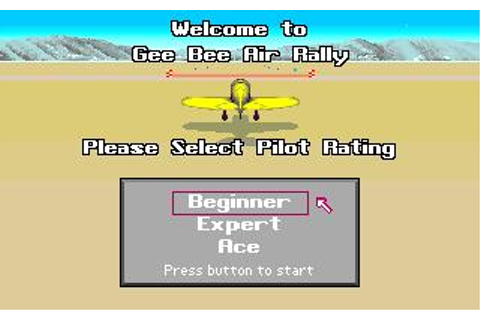 Gee Bee Air Rally Download (1987 Amiga Game)