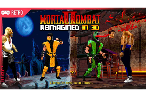 Mortal Kombat 2 (1993) reimagined as a 3D game! - YouTube