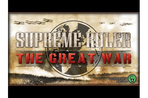 Supreme Ruler The Great War Steam Key Preisvergleich
