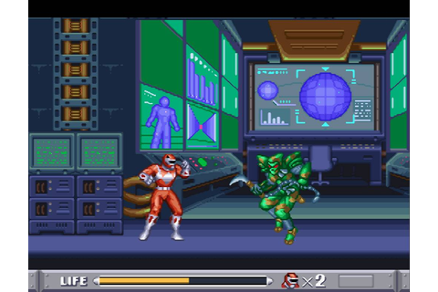 It's Morphin' Time! Mighty Morphing Power Rangers SNES ...