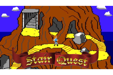 Let's Play Stair Quest | Apple II Bits