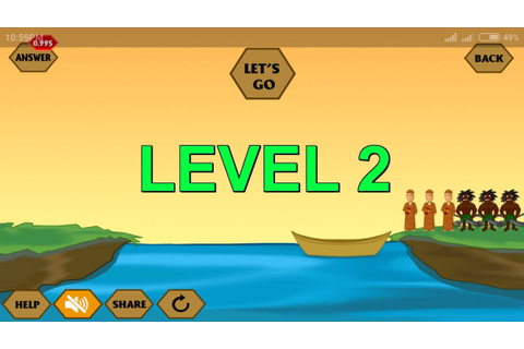 River Crossing - Level 2 Mobile Game - YouTube