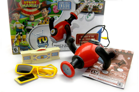 Dan the Pixar Fan: Toy Story: Mania Plug and Play Point 'N ...