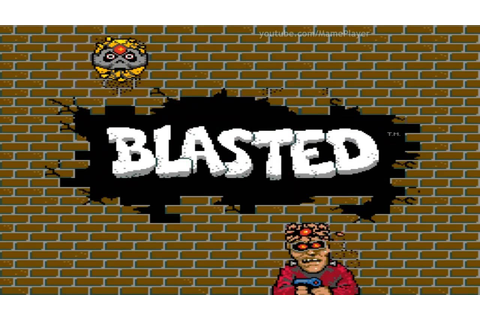 Blasted 1988 Bally Midway Mame Retro Arcade Games - YouTube