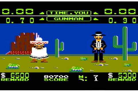 Nintendo Wild Gunman Video Game Relaunched For Back To The ...