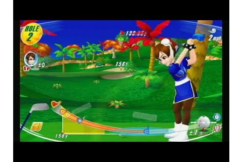 We Love Golf! Nintendo Wii Gameplay - Chun-Li - YouTube