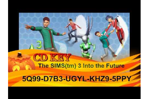 The SIMS(tm) 3 Into the Future CD KEY [Nem Fake!] - YouTube