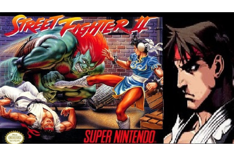 Street Fighter II - The World Warrior - Ryu (SNES) - YouTube