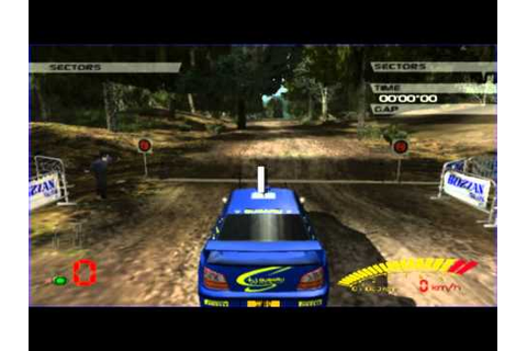 V-Rally 3 (PS2 Gameplay) - YouTube