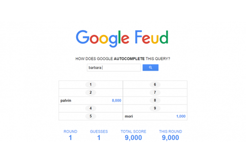 How to play Google Feud