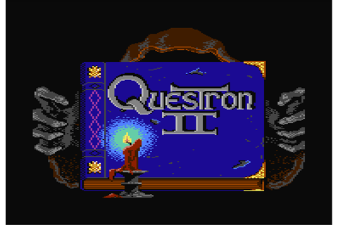 Questron II, de Strategic Simulations Inc. pour Commodore ...