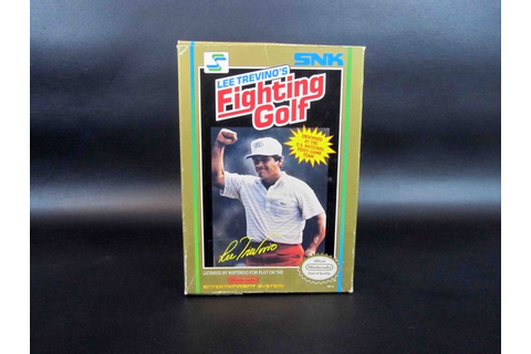 Vintage Lee Trevino's Fighting Golf Game for