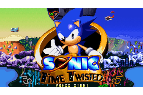 Indie Retro News: Sonic the Hedgehog Time Twisted - A high ...